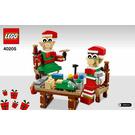 LEGO Little Elf Helpers Set 40205 Instructions