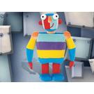 LEGO Little Robots Stripy Plush Mini (7462)