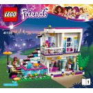 LEGO Livi's Pop Star House Set 41135 Instructions