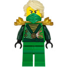 LEGO Lloyd Rebooted with Golden Armor Minifigure