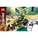 LEGO Lloyd's Jungle Chopper Bike Set 71745 Instructions
