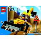 LEGO Loadin' Digger Set 4667 Instructions