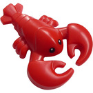 LEGO Lobster with Black Eyes with White Pupils Decoration (29017)