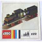 LEGO Loco and Tender Set 122 Instructions