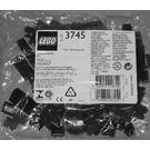 LEGO Locomotive Black Bricks Set 3745