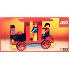 LEGO Locomotive with driver and passenger Set 252-1