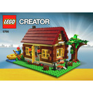 LEGO Log Cabin Set 5766 Instructions