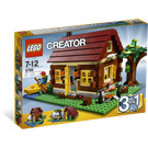 LEGO Log Cabin Set 5766 Packaging