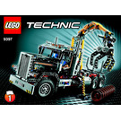 LEGO Logging Truck Set 9397 Instructions