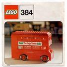 LEGO London Bus Set 384 Instructions