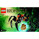 LEGO Lord of Skull Spiders Set 70790 Instructions