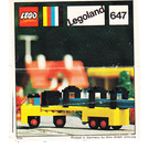LEGO Lorry With Girders Set 647 Instructions