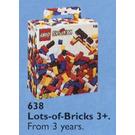 LEGO Lots of Extra Basic Bricks, 3+ Set 638