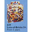 LEGO Lots of Extra Basic Bricks, 5+ Set 639
