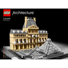 LEGO Louvre Set 21024 Instructions