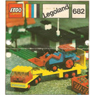 LEGO Low-Loader and Tractor Set 682