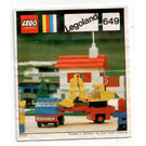 LEGO Low loader with excavator Set 649 Instructions