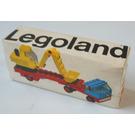 LEGO Low loader with excavator Set 649 Packaging