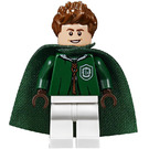 LEGO Lucian Bole In Slytherin Quidditch Uniform Minifigure