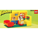 LEGO Lucy Lamb's Bedroom Set 3636