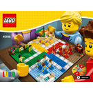 LEGO Ludo Game Set 40198 Instructions