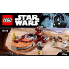 LEGO Luke's Landspeeder Set 75173 Instructions