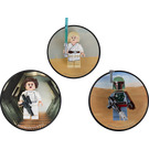 LEGO Luke Skywalker, Princess Leia and Boba Fett magnets (5002825)