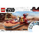 LEGO Luke Skywalker's Landspeeder Set 75271 Instructions