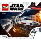 LEGO Luke Skywalker's X-wing Fighter Set 75301 Instructions