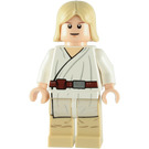 LEGO Luke Skywalker, Tatooine, with White Robe, Brown Belt and Leggings Minifigure