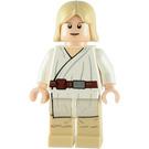LEGO Luke Skywalker, Tatooine, with White Robe, Brown Belt and Leggings Minifigure