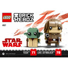 LEGO Luke Skywalker & Yoda Set 41627 Instructions