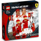 LEGO M. Schumacher and R. Barrichello Set 8389 Packaging