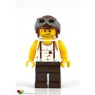 LEGO Mac McCloud with Aviator Helmet Minifigure