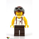 LEGO Mac McLoud with Aviator Helmet Minifigure