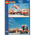 LEGO Mach II Red Bird Rig Set 5591 Instructions