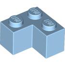 LEGO Maersk Blue Brick 2 x 2 Corner (2357)