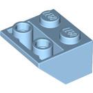 LEGO Maersk Blue Slope 2 x 2 (45°) Inverted (3660)