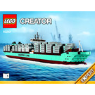 LEGO Maersk Line Triple-E Set 10241 Instructions
