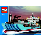 LEGO Maersk Sealand Container Ship Set 10152 Instructions
