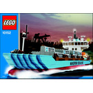 LEGO Maersk Sealand Container Ship Set (2004 Version) 10152-1 Instructions