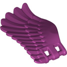 LEGO Magenta Wing Left with 3.2 Shaft (20313)