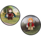LEGO Magnet Set: Frodo and Bilbo Baggins (5002828)