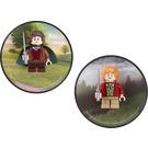 LEGO Magnet Set: Frodo and Bilbo Baggins (5002828)