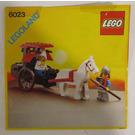 LEGO Maiden's Cart Set 6023 Instructions