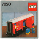 LEGO Mail Van Set 7820 Instructions