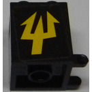 LEGO Mailbox Casing 2 x 2 x 2 with Sticker from Set 7776 (4345)