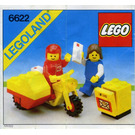 LEGO Mailman on Motorcycle Set 6622