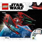 LEGO Major Vonreg's TIE Fighter Set 75240 Instructions