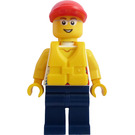 LEGO Male Dinghy Passenger Minifigure